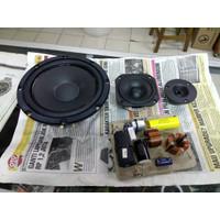 speaker split 3way avexis wavecor tw vifa with xo