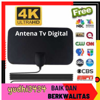 Promo Antena smart android tv box 32 40 43 50 inch digital indoor outd