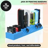 USB SD MicroSD Holder 3D Print Bandung WICTMGS