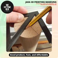 Alat Pencari Pusat Center Finder Ruler 45 3D Print Bandung WICTMGS