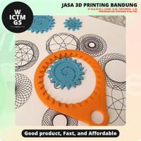 Spirograph 3D Print Bandung WICTMGS