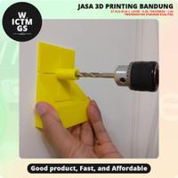 Wadah Debu Bor Drilling Guide Dust Collector 3D Print Bandung WICTMGS