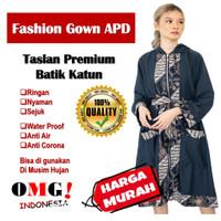 PROMOSI Baju APD GOWN Taslan Premium Fashion Wanita Korea Indonesia Wa