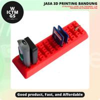 USB SD SD Mirco Holder Combined 3D Print Bandung WICTMGS