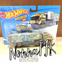 Hot Wheels 2018 Super Rigs Bank Roller Wvehicle Included