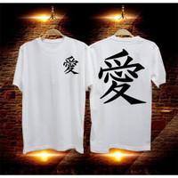 distro distro murah baju TULISAN 48 pria combed30s murah t-shirt CHINA