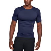 Under Armour Men'S RUSH™ Compression Short Sleeve Navy - Black