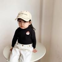 Se7En Kaos T-Shirt Anak Laki-Laki/Perempuan Musim Gugur/Dingin Motif
