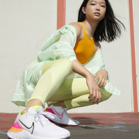 Nike renew run cushioning new summer breathable sport shoes couple
