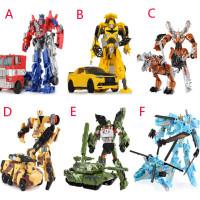 Mainan Robot Transformer Autobot/Bumblebee untuk Anak Laki-laki