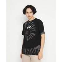 Erigo T-Shirt Tie Dye Tomoe Black