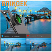 Apexel 6in1 Set Lensa Kamera Fish Eye/Wide