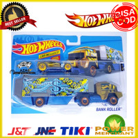 Hot Wheels Truck BANK ROLLER Transport Great for Track Mainan Limited