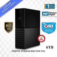 WD MYBOOK 6TB PERSONAL STORAGE - HDD / HD / HARDISK EXTERNAL 3.5