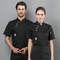 Baju Koki Lengan Pendek Bahan Tipis Untuk Pria/wanita
