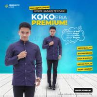 Baju Koko Bhs Terbaru Baju Koko Putih Pria Koko Pria Dewasa PREMIUM