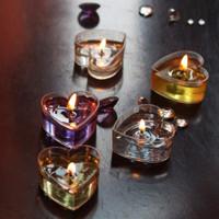 10pcs Gelas Lilin Bahan Plastik Transparan Untuk Lilin Gel Wangi Diy