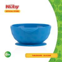 Nuby Sure Grip Bowl - Blue