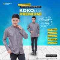 Koko Panjang Rabbani Baju Koko Untuk Remaja Kemeja Koko Rabbani