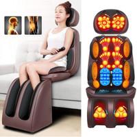 Kursi Pijat Kantor Mobil Sofa Elektrik Remote Massage Cushion 4 0 lbg