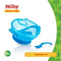 Nuby Garden Fresh Suction Bowl 'n Spoonlid