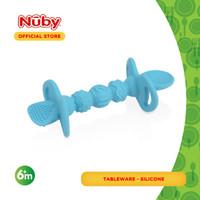 Nuby Suregrip Dipeez Self Feeding Spoon (Assorted Colour)