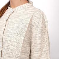 FH 50155 Baju Kemeja Atasan Koko XXL Jumbo Lengan Panjang Murah Wanita