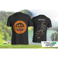 Pakaian Pria Kaos Baju Pendaki Gunung Mahameru Puncak Semeru