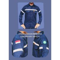 NEW Baju atasan wearpack seragam safety kemeja kerja proyek lapangan h