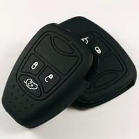 Cover Kunci Silikon Jeep Wrangler JK Rubicon Compass Car Key diskon