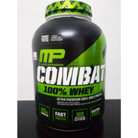 Combat Whey Muscle Pharm 5 lbs MP BPOM Protein Powder MusclePharm lb