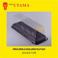 (200 SET) Mika Tray Bolu Gulung Kue Lapis Panjang BG KLP 623 (23CM)