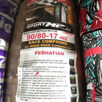 FDR 90 80 17 MP27 Ban balap Soft compound tubeles velg ring 17