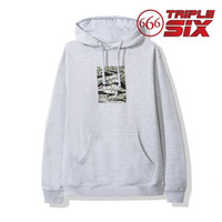 Hoodie Pullover Jumper Anti Social Social Club ASSC Tiger Camo Grey