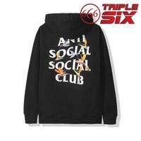 Hoodie Pullover Jumper Anti Social Social Club ASSC Pair of Dice Black