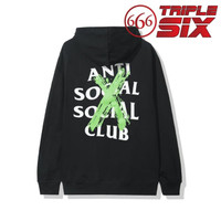 Hoodie Pullover Anti Social Social Club Cancelled Remix