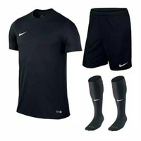 TI Stelan futsal olahraga Main bola Baju Kolor dan Kaos kaki panjang M