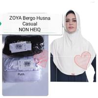 Zoya Bergo Casual Husna/Jilbab/Hijab Instan/Kerudung Original