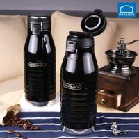 Lock Lock Tumbler Wave Bottle Thermos 600ml LHC4150 Hot Cool Coffee