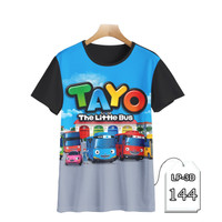 Baju Anak Tayo The Little Bus Baju Tayo Kartun TV Anak DEWASA#LP3D-144