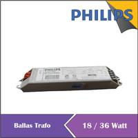 Ballas Balast Travo Trafo EBC Elektronik Lampu TL Neon 18 / 36 W
