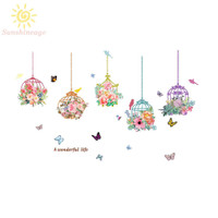 Wall Sticker Butterfly Decals Decor Mould proof Antifouling Ornament
