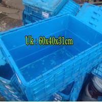 box nestable container box plastik nestable kontener susun bak biru