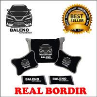 Car Asesoris Bantal mobil BALENO HASTCHBACK Headrest Mobil Kode GOD223