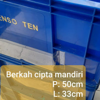 Bak Blastik Bekas Bak kontener Bekas Box container Biru