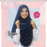 Jilbab Instan Hana Pet By Azmeela- Navy