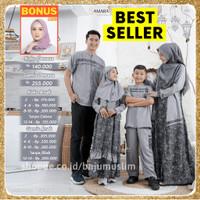 Promo Baju Gamis Sarimbit Couple Pasangan Keluarga Muslim Lebaran