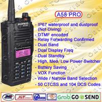 HT BAOFENG A58 PRO waterproof dual band termurah