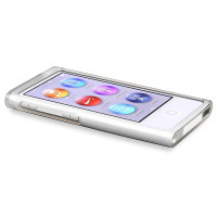 TPU Rubber Skin Case compatible with iPod nano 7th Generation, Frost