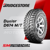 O00- Ban Mobil Bridgestone Dueler D674 Mt 235 75 R15 15 0Wt 110Q 8Pr